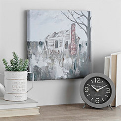 Cabin Canvas Art Print