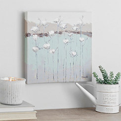 Cotton Blossoms Canvas Art Print