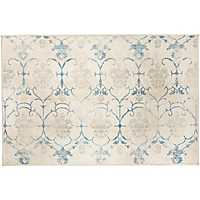 Vintage Creme Leyla 2-pc. Washable Accent Rug
