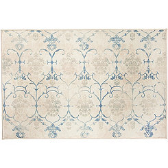 Vintage Creme Leyla 2-pc. Washable Accent Rug, 3x5