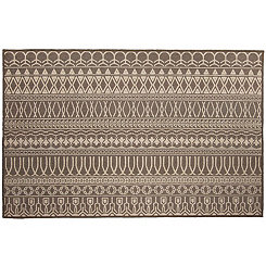 Espresso Cadiz 2-pc. Washable Accent Rug, 3x5