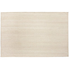 Cream 2-pc. Washable Accent Rug, 3x5