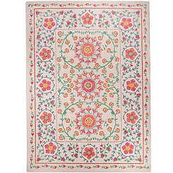 Coral Suzi 2-pc. Washable Area Rug, 5x7