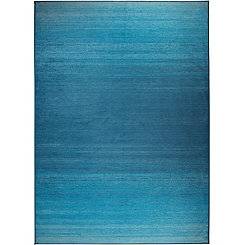 Ombre Blue 2-pc. Washable Area Rug, 5x7