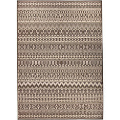 Espresso Cadiz 2-pc. Washable Area Rug, 5x7