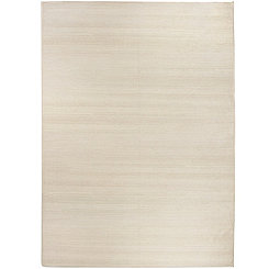Textured Cream 2-pc. Washable Area Rug, 5x7