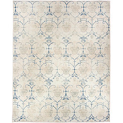 Vintage Creme Leyla 2-pc. Washable Area Rug, 8x10