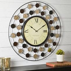 Open Wire Wall Clock