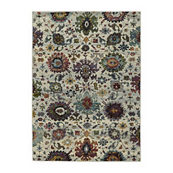 Cream Andy Area Rug, 5x7