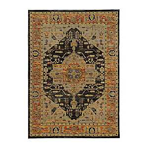 Gold Andy Area Rug, 5x7