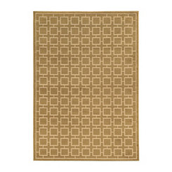 Gold Squares Cooper Area Rug, 5x7
