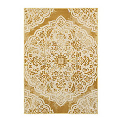 Gold Jay Area Rug, 5x8