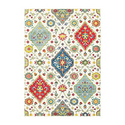 Cream Jayden Area Rug, 5x8