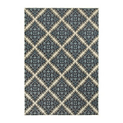 Blue Lindy Area Rug, 5x8