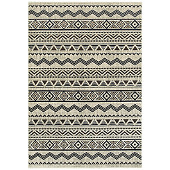 Gray Aztec Lindy Area Rug, 5x8