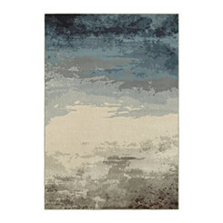 Navy Sky Lindy Area Rug, 5x8