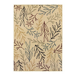 Cream Vine Nola Area Rug, 5x7