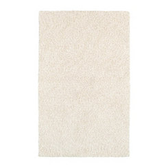 Cream Posh Area Rug, 5x7