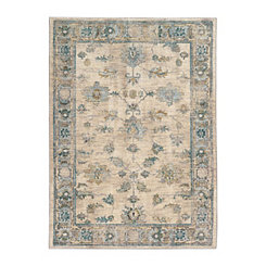 Blue Serenity Area Rug, 5x8