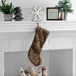 Brown Fur Stocking
