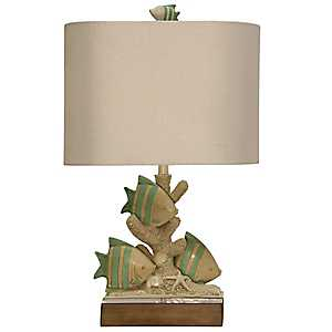 Point Claire Coastal Table Lamp