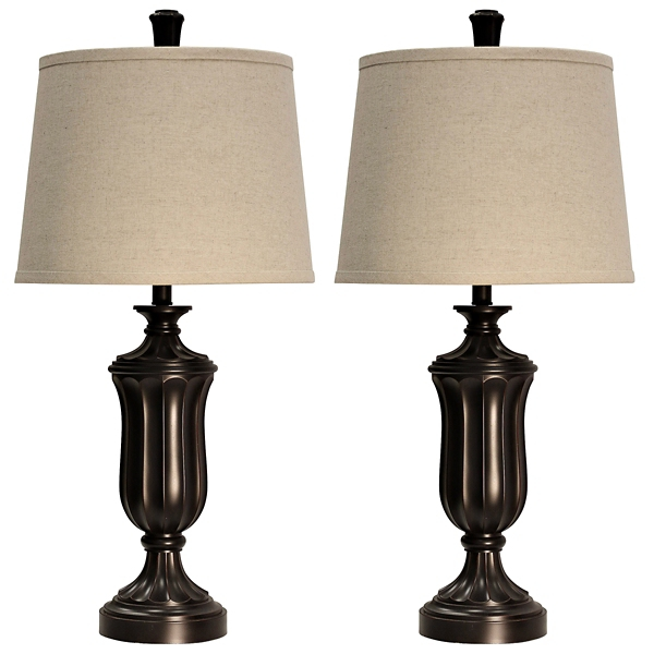 ... Madison Bronze Table Lamps, Set Of 2 ...