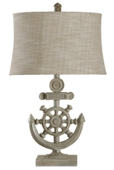 Nautical Anchor Table Lamp