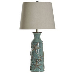 Blue Bay Nautical Ceramic Table Lamp