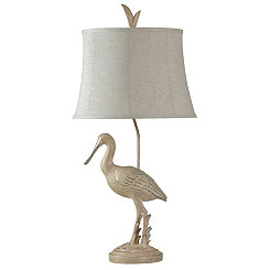 Gulf Coast Sea Bird Table Lamp