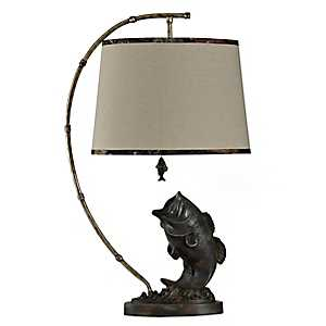Large Mouth Fish Table Lamp