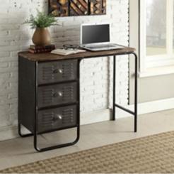 Locker 3-Drawer Desk