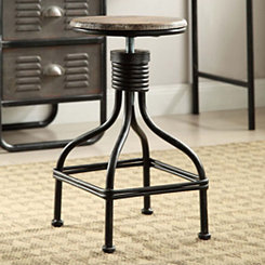 Locker Swivel Stool