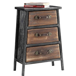 Urban Loft 3-Drawer Accent Table