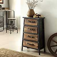 Urban Loft 4-Drawer Accent Table