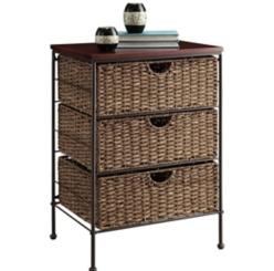 Farmington 3-Drawer Side Table