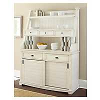 Susana White Buffet Cabinet and Hutch