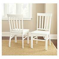 Susana White Dining Chairs, Set of 2