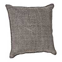 Charcoal Dhurrie Pillow