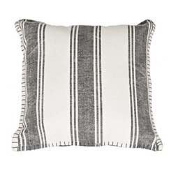 Striped Dhurrie Pillow