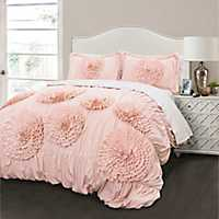 Blush Serena 3-pc. Full/Queen Comforter Set
