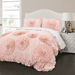 Blush Serena 3-pc. King Comforter Set