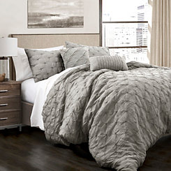 Gray Ravello 5-pc. King Comforter Set