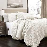 White Ravello 5-pc. Full/Queen Comforter Set