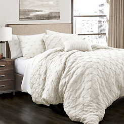 White Ravello 5-pc. Full/Queen Comforter Set