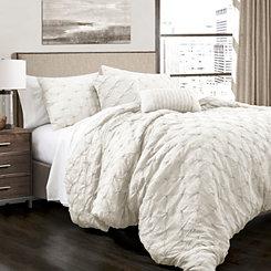 White Ravello 5-pc. King Comforter Set