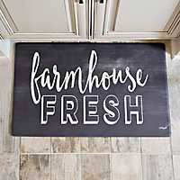 Cook N Comfort Farmhouse Fresh Kitchen Mat