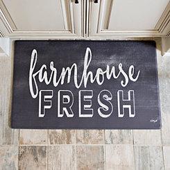 Cook N Comfort Farmhouse Fresh Kitchen Mat