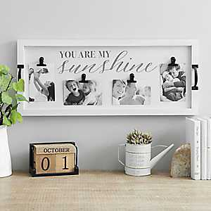 You are My Sunshine Tray Clip Collage Frame