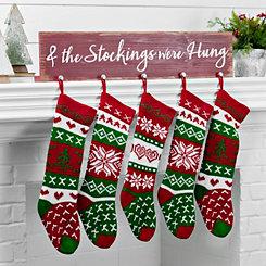 Stockings Were Hung Mantel Hook Stocking Holder