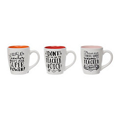 Teacher Sentiment Mugs